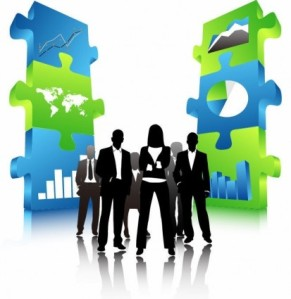 business_people_team_with_3d_puzzle_pieces_148486